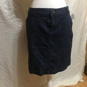 Merona Blue Jean Skirt